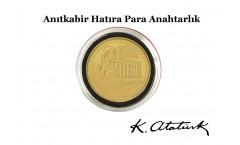 Anıtkabir Hatıra Para Anahtarlığı