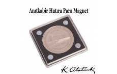 Anıtkabir Coin Magnet Hatıra Para Magneti